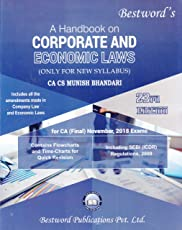 A Handbook on Corporate and Economic Laws (Only for New Syllabus) 23rd Edition by CA CS Munish Bhandari