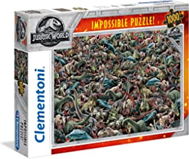 Clementoni 39470 Jurassic World - 1000 T Impossible