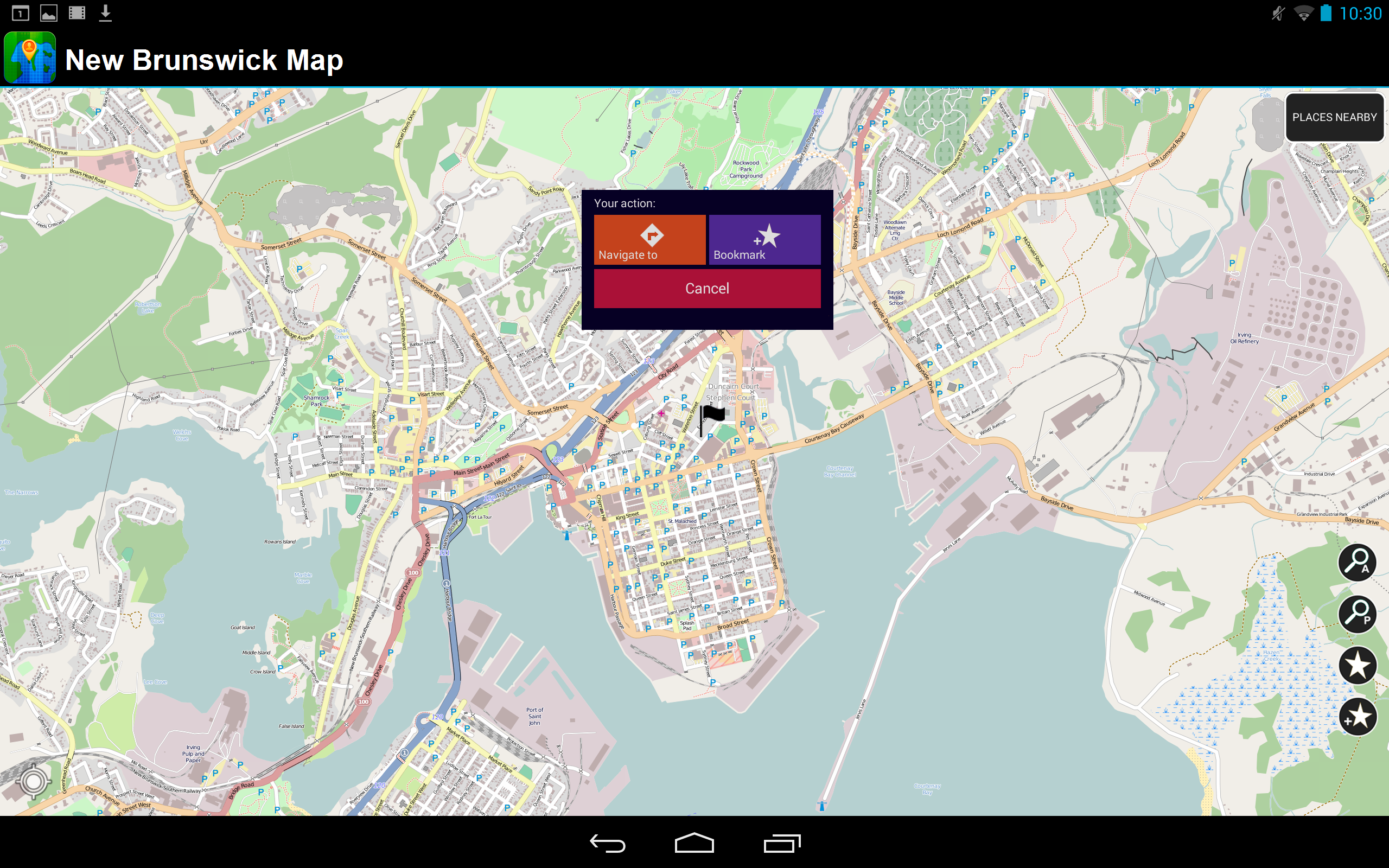 New Brunswick - Offline Karte: Amazon.de: Apps für Android