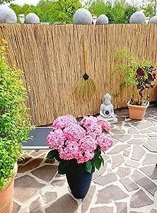 giardino e balcone Naturale antivento e frangivista in canna fumaria per casa Stuoia in 13 misure
