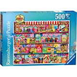 Ravensburger The Sweet Shop 500 Piece Jigsaw Puzzle for Adults & for Kids Age 10 and Up