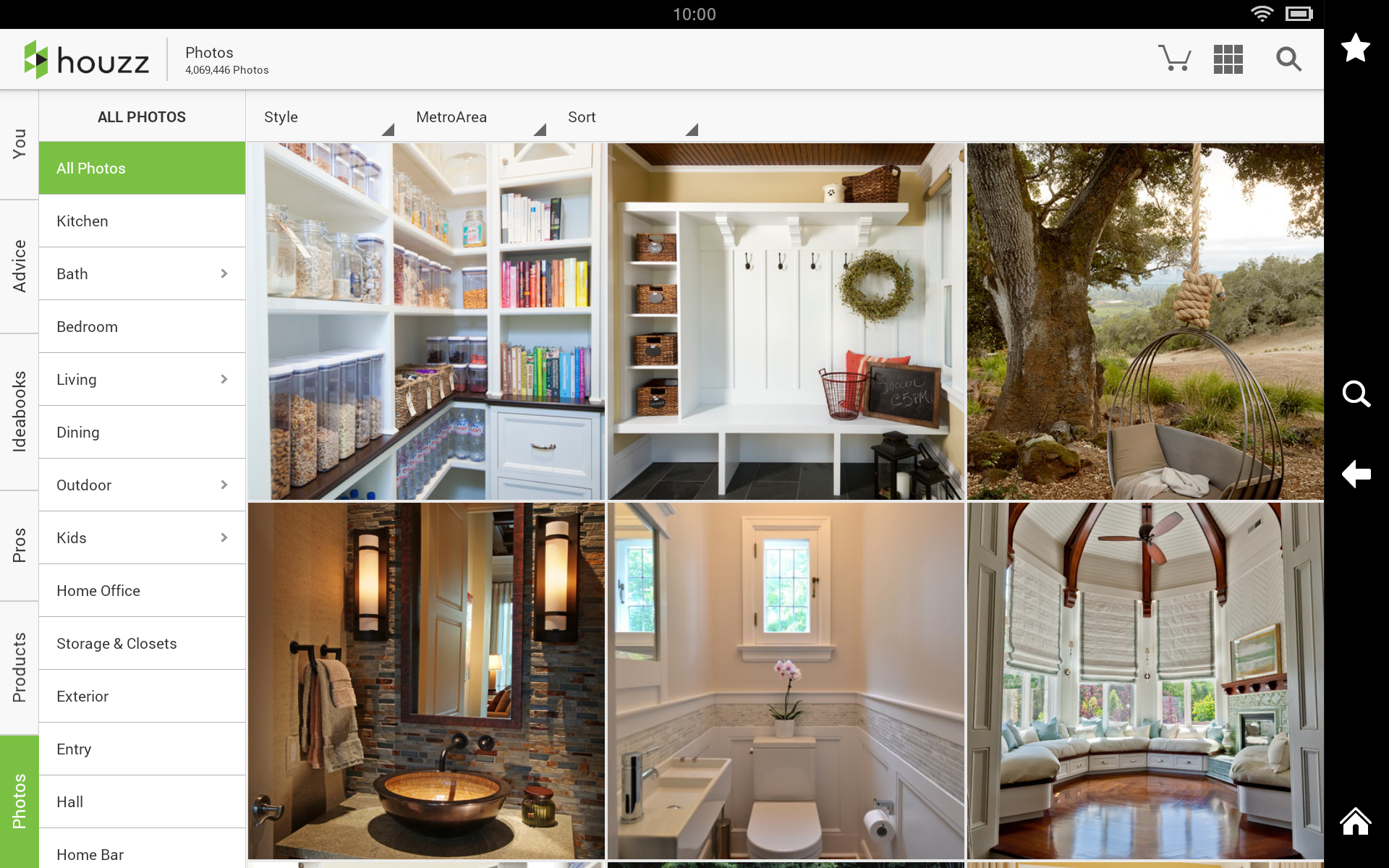 Houzz interior design ideas appstore for House interior design ideas app