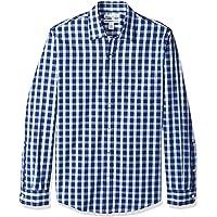 Amazon Essentials Slim-Fit Long-Sleeve Stripe Shirt Uomo