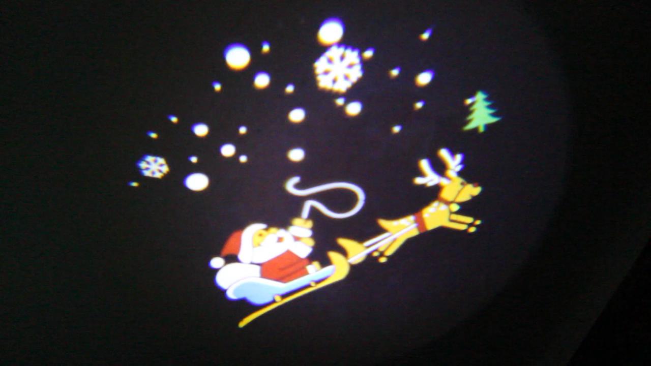 LED Licht Projektor Außen, UNIFUN Animiert Weihnachtsbeleuchtung ...