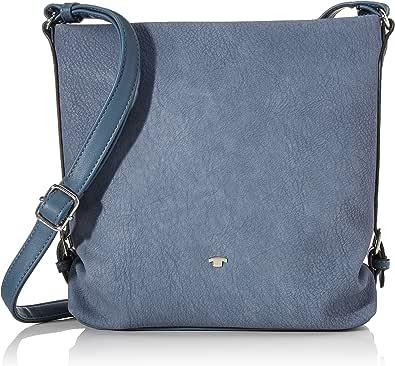 Tom Tailor Umhängetasche Damen Perugia Blau M Handtasche Tasche Damen Schuhe Handtaschen