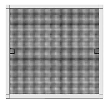 Wundervoll Schellenberg 70032 Insektenschutz-Fenster Plus, Fliegengitter mit  HS53