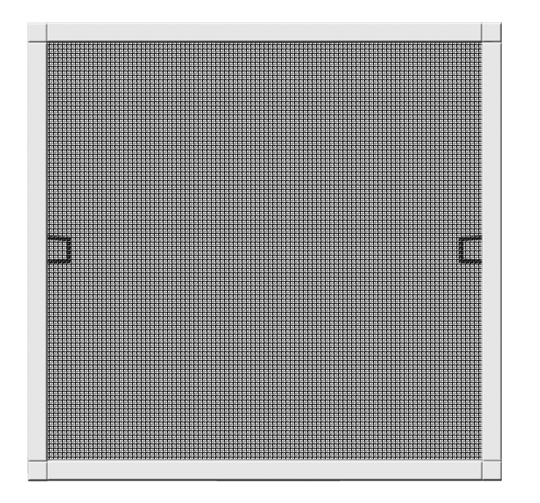 Schellenberg 70030protezione dagli insetti della finestra Plus, Zanzariera con cornice–100x 120