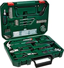 Bosch 2.607.017.357 All-in-One  Metal Hand Tool Kit (Multicolour, 108-Pieces)