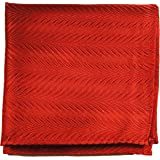 Paul Malone de carré de poche mouchoir 100% soie Rouge uni