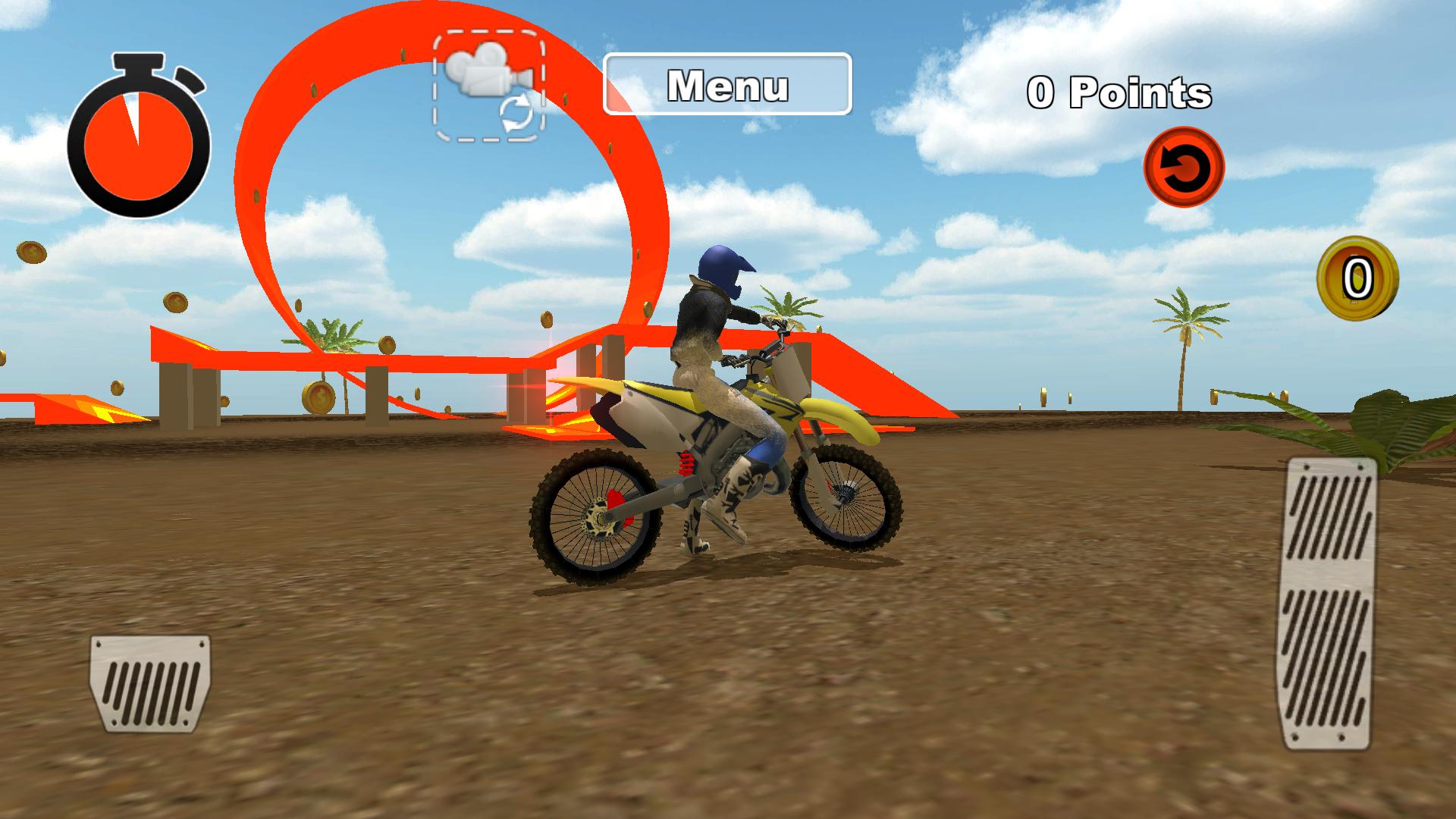 Zoom IMG-2 bike moto stunt racing 3d