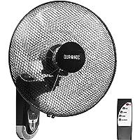 Duronic FN55 Ventilateur mural oscillant de 60W – 5 Pâles de 40 cm - Télécommande/Minuterie / 3 Vitesses – Moteur…