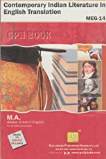 MEG-14 Contemporary Indian Literature In English Translation