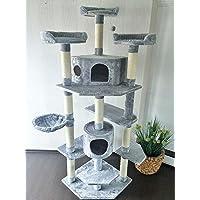 Petsbelle Lemio - Kratzbaum Trebly Katzenbaum 193cm Katzenkratzbaum Spielbaum Kletterbaum Möbel für Katzen