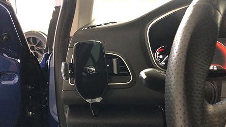 Usams Qi Handy Halterung Für Auto Wireless Charger Kfz Handyhalterung Lüftung Induktion Autohalterung Induktiv Ladestation Für Iphone Xs Max Xr X 8 Plus Samsung Galaxy S9 S8 S7 S6 Edge Note 8 5 Elektronik