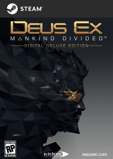 Deus Ex: Mankind Divided - Digital Deluxe Edition [PC Code - Steam] (B01G3YM6W6)   Amazon price tracker / tracking, Amazon price history charts, Amazon price watches, Amazon price drop alerts