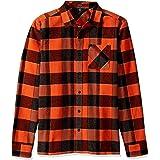 Volcom Men's Men's Neo Glitch Button Up Flannel Shirt Men's Neo Glitch Button Up Flannel Shirt