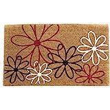 Coco&Coir® Paillasson en fibre de coco   100 % Fibre de Coco Naturelle avec endos en PVC   Tapis Coco Premium   Paillasson tr