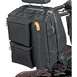 Homecraft Deluxe Roller Bag, zakken met ritssluiting voor gewatteerde opslag, waterdicht polyester, opslag voor krukken en wa
