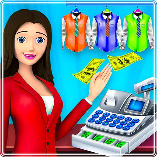 High School Simulator Uniform Cash Register Games: Girls Designer & Dress Up Game: Trendy fashionista: School Shirts: Scarf: Tie: Skirt & Shoes: Dress making games: Fashion Designer: Girl Cashier