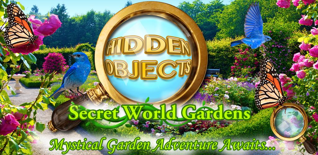 Hidden Objects Secret World Gard...