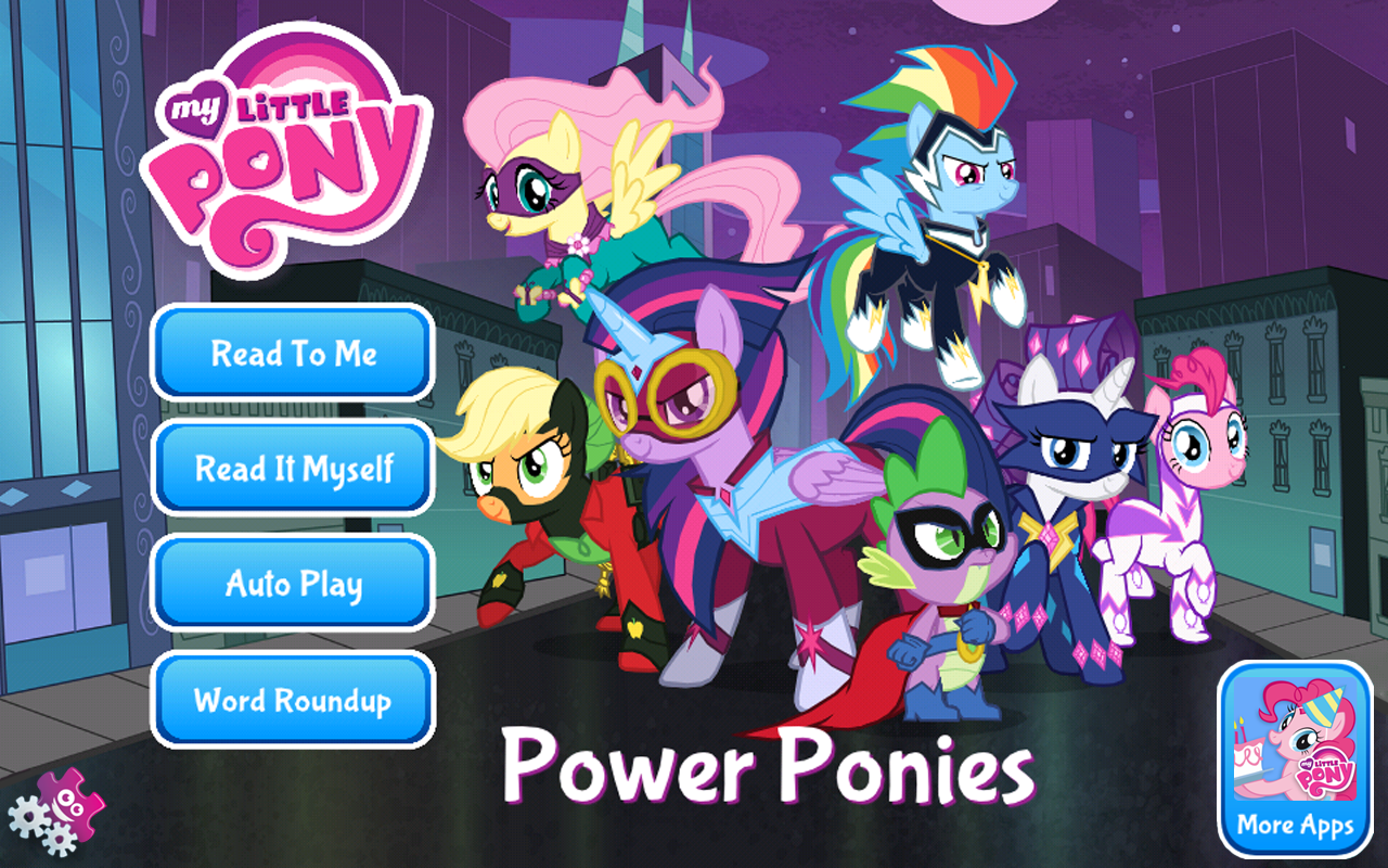 My Little Pony Power Ponies Amazon Co Uk Appstore For