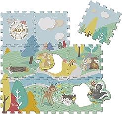 Chicco Move 'N Grow Tappeto Puzzle Bambi, Multicolore