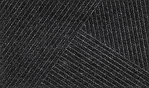 innen und au/ßen Dark Grey 60x90 Dune Waves waschbar