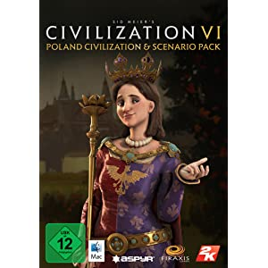 Sid Meier's Civilization VI – Poland Civilization & Scenario Pack (Mac) [Mac Code – Steam]