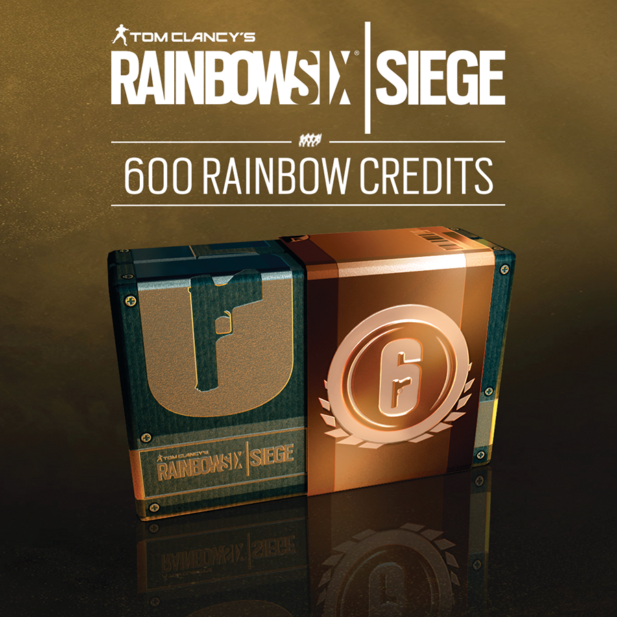 Tom Clancy's Rainbow Six Siege - 600 Credits Pack [PC Code - Uplay]