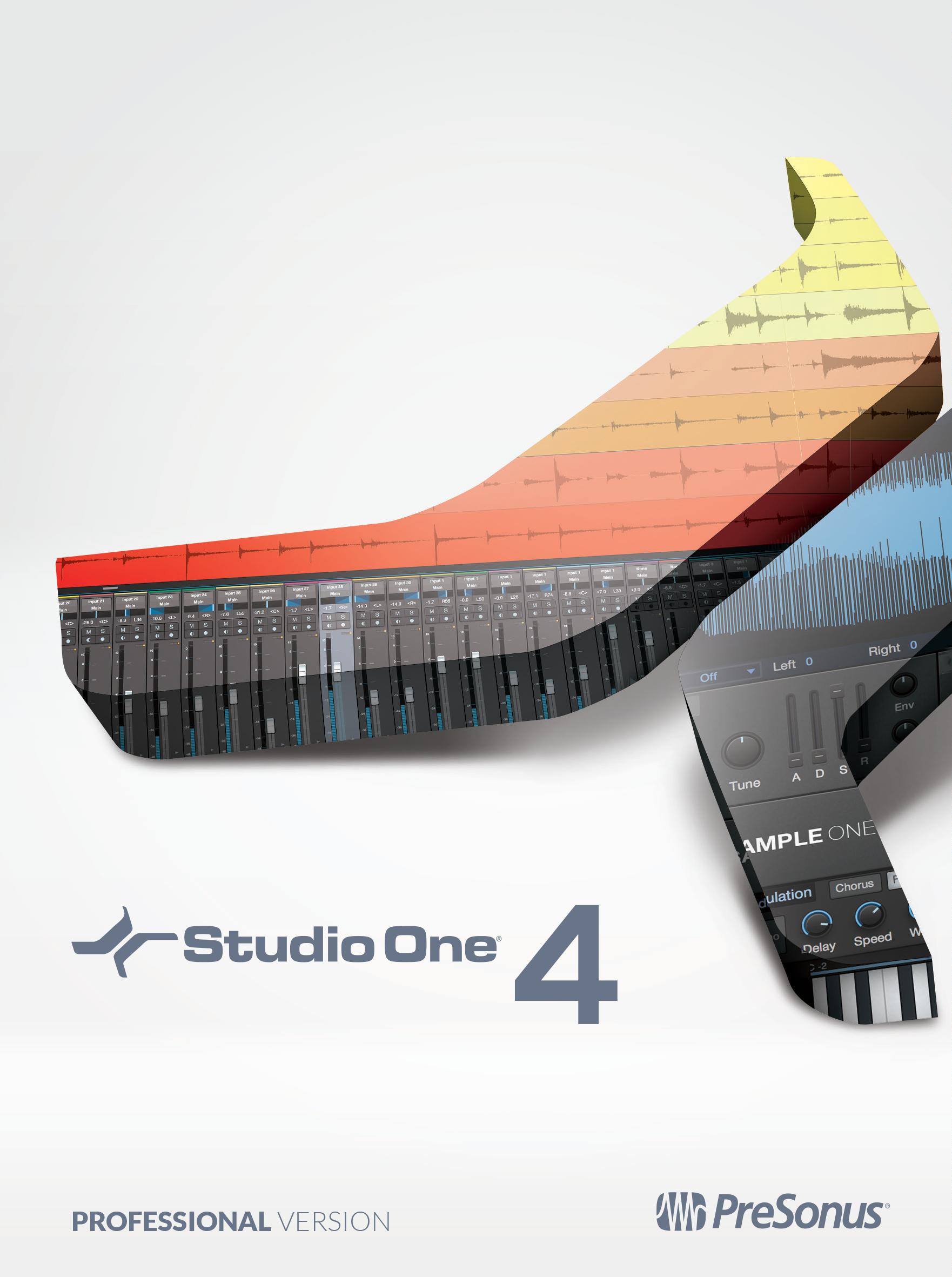 PRESONUS Studio One 4 - Musik-software Für X Logic