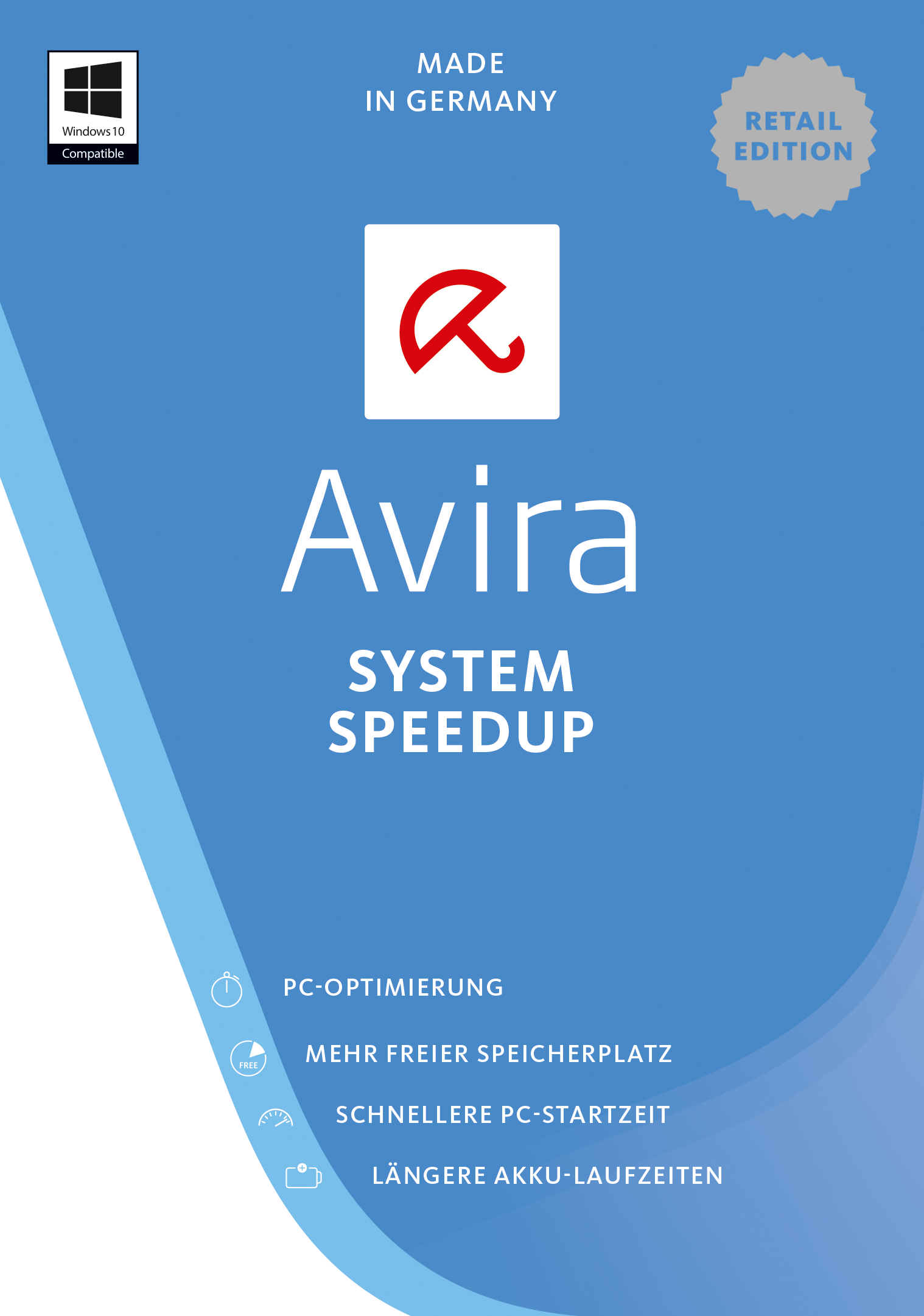 Avira System Speedup 2017  - 3 Geräte / 1 Jahr [Online Code]