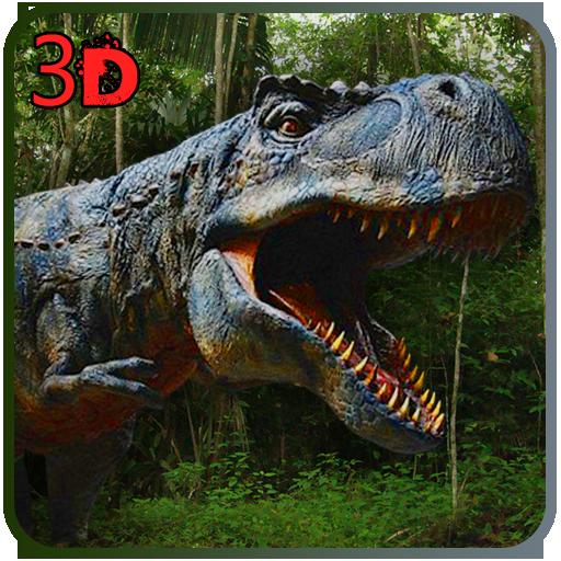 Wilde Dinosaur World Angriff 3D -