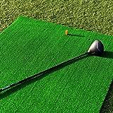 Net World Sports FORB Academy Golf Übungsmatte (150cm x 100cm) – Üben wie die Profis mit der aufrollbaren, tragbaren Abschlagmatte mit 13mm Kunstrasen