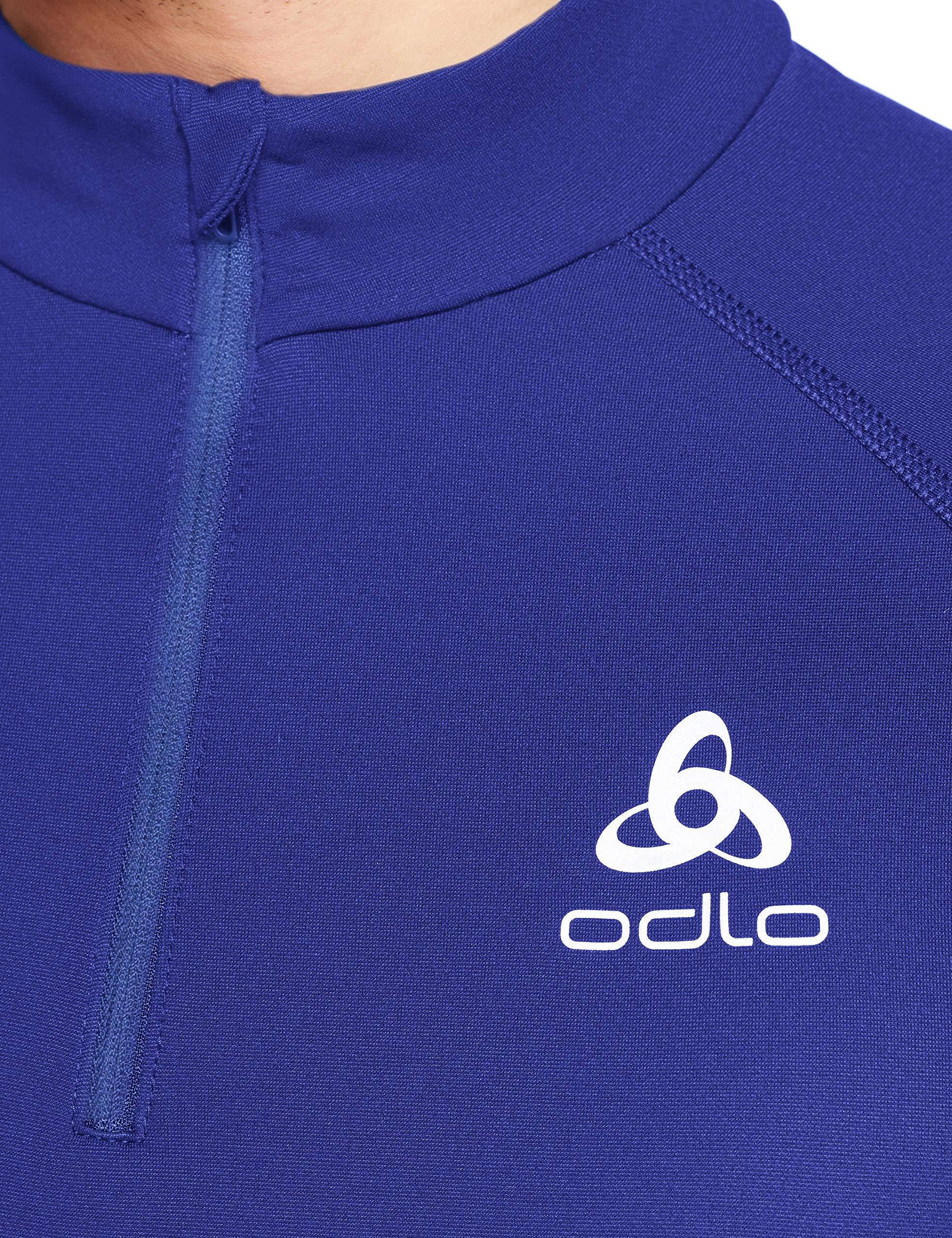 A13qri6LSiL - ODLO Men's Mid Layer 1/2 Zip Omnius Warm Pullover