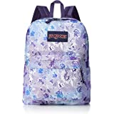 JanSport Superbreak Backpack - Striped Floral - Classic, Ultralight