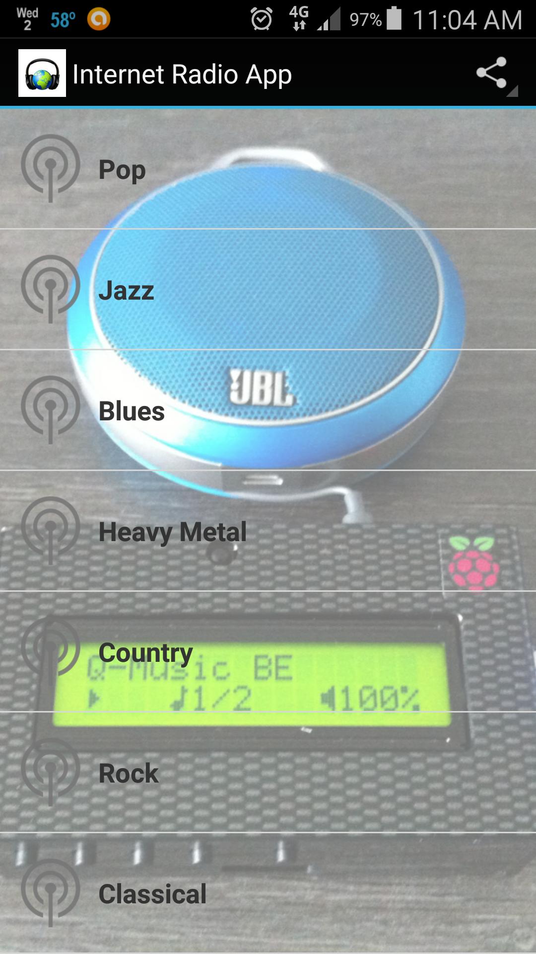 boeg app radio