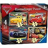 Ravensburger- Puzzle 4 en una Caja, Cars 3 (6894)