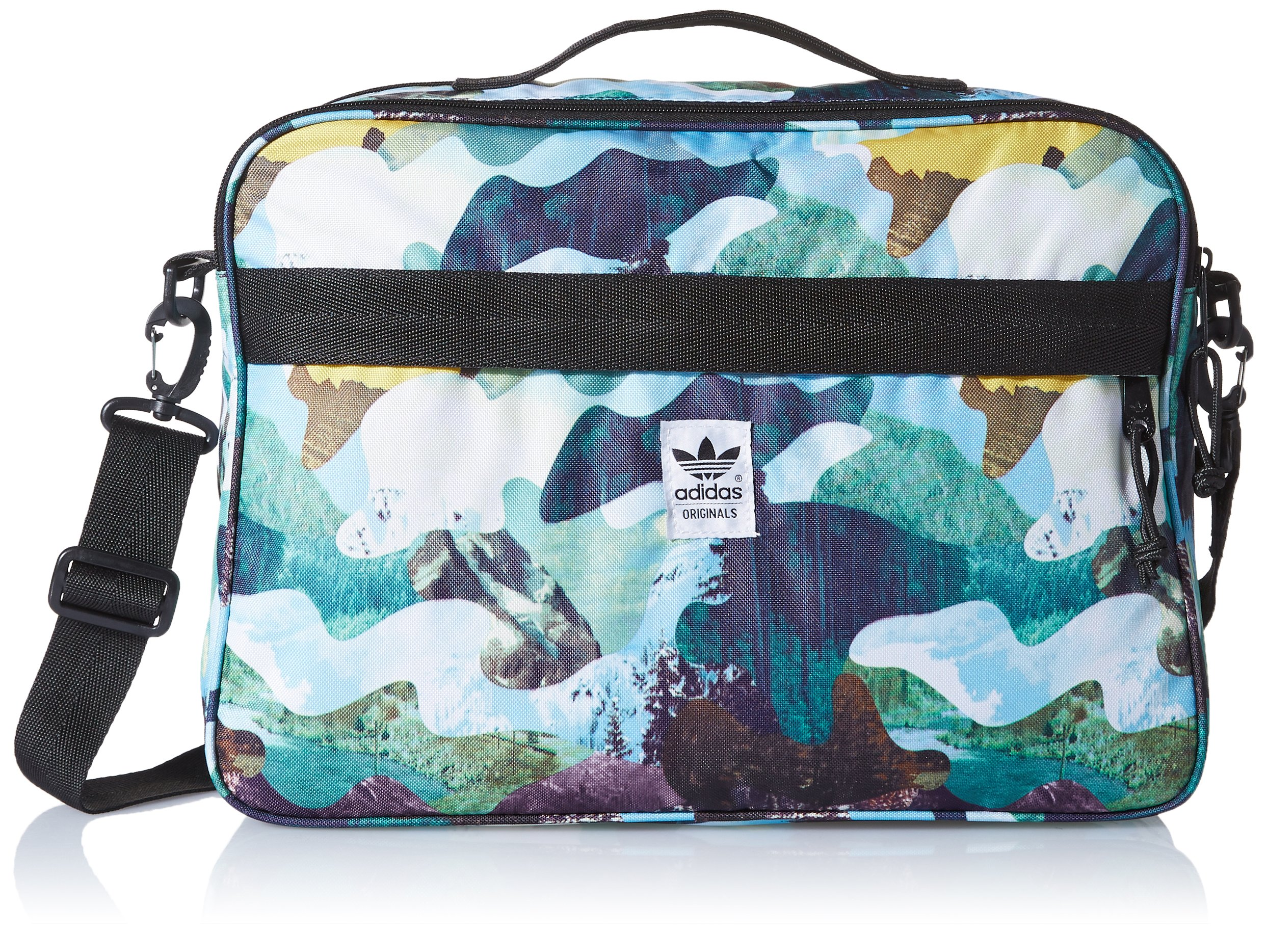 adidas – Bags – Mountain Camo Airliner Bag – Blue ... 1877086f7d633