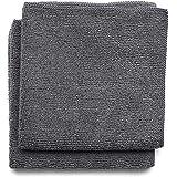 Brabantia Sink Side 2 Schoonmaakdoekjes Microvezel 30 x 30 cm - Dark Grey