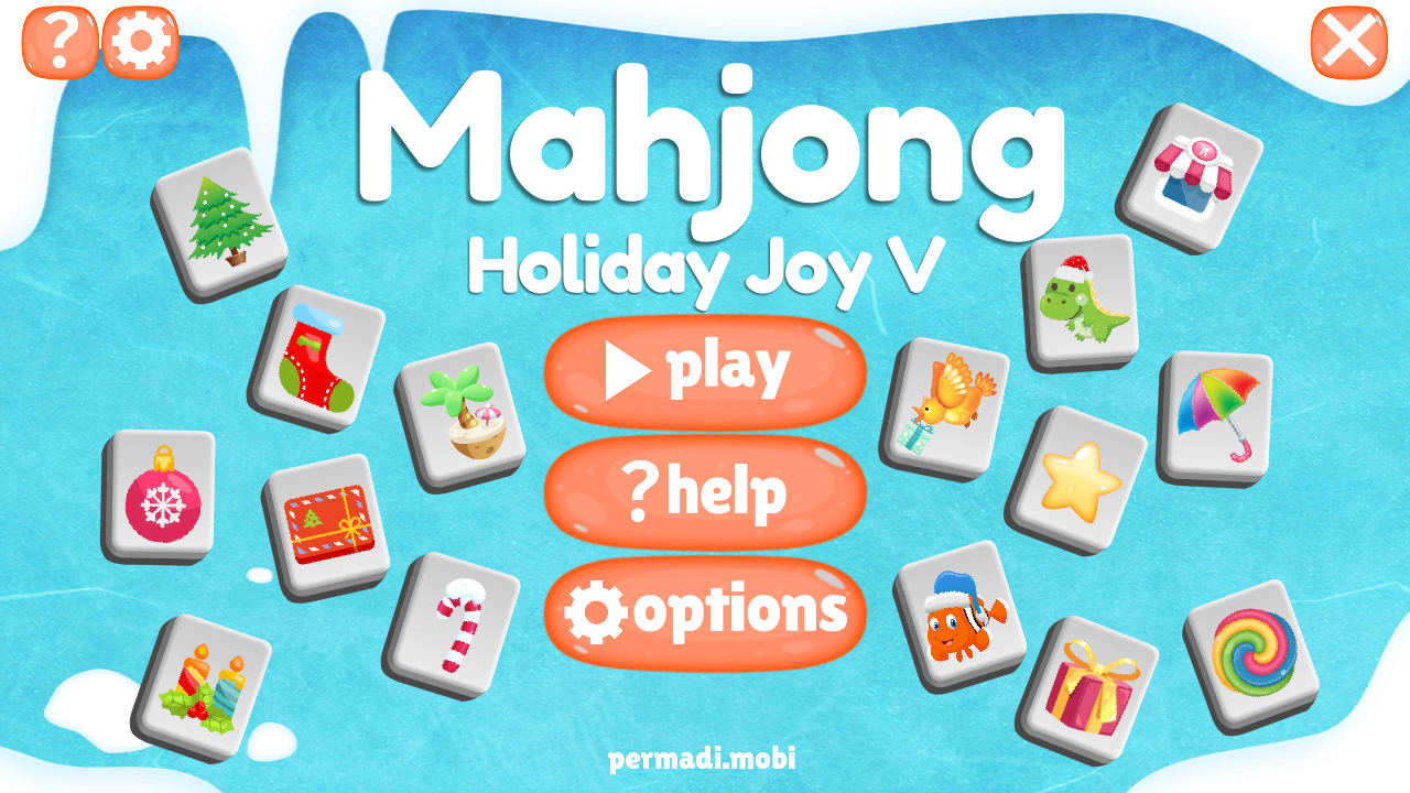 Mahjong Christmas.Mahjong Holiday Joy 2017 Mahjongg Game For The Holiday Christmas New Year And Any Fun Occasion