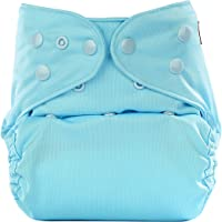 Bumberry Reusable Diaper Cover Without Insert (Baby Blue)