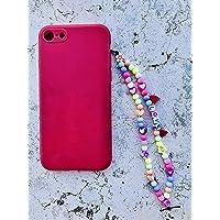 Phone strap perline charm Love, personalizzato con lettere e nome. Porta cellulare da polso e gioiello per il tuo…