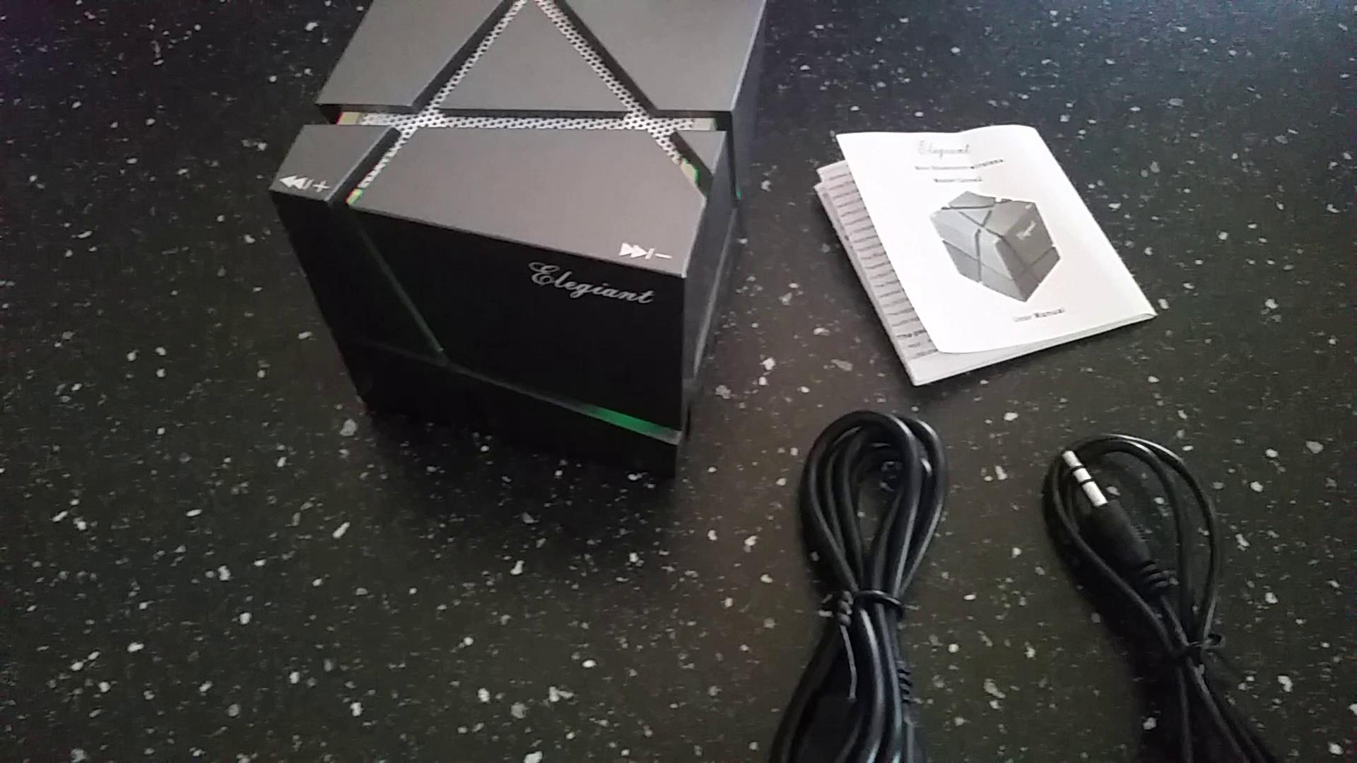 ELEGIANT Bluetooth Lautsprecher Mini Tragbar Stereo Lautsprecher ...