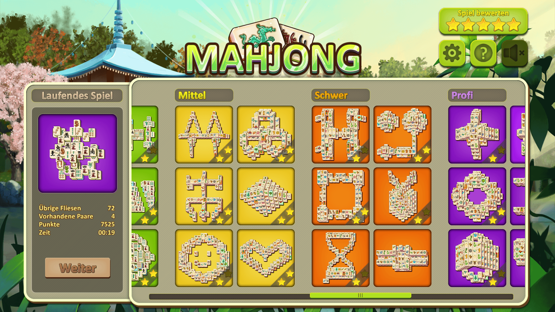 mahjong kostenfrei spielen