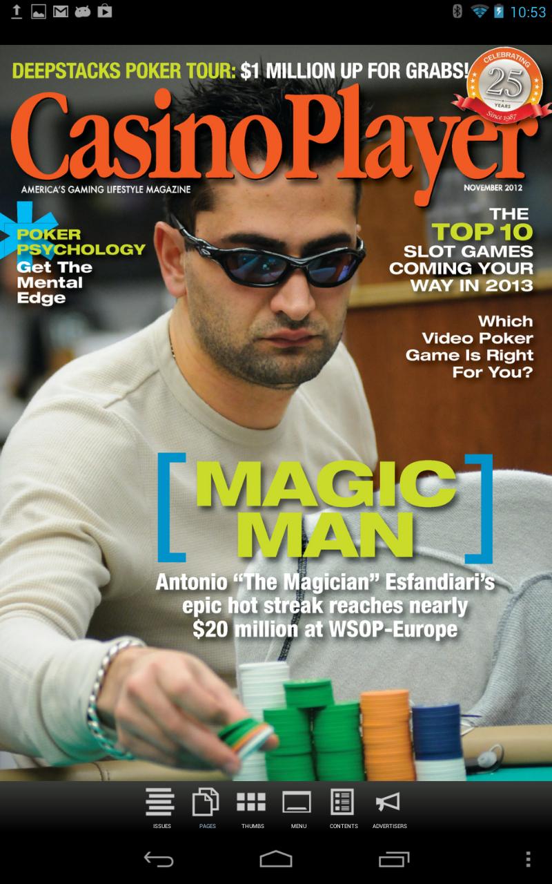 Casino player publishing llc