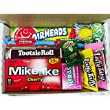 American Candy Sweets Gift Box Laffy Taffy / Jolly Rancher / Nerds / Tootsie Roll / Airheads / Twizzlers