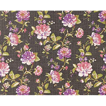 blumen tapete vlies edem 603 94 xxl blumentapete florales muster mit bl ttern textilstruktur. Black Bedroom Furniture Sets. Home Design Ideas