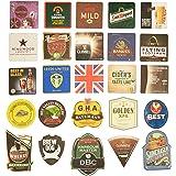 Pub Paraphenalia Traditionele bierdeksels, meerkleurig, 25 stuks