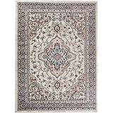 Carpeto Rugs Tapis Salon Beige 200 x 300 cm Oriental/Ayla Collection