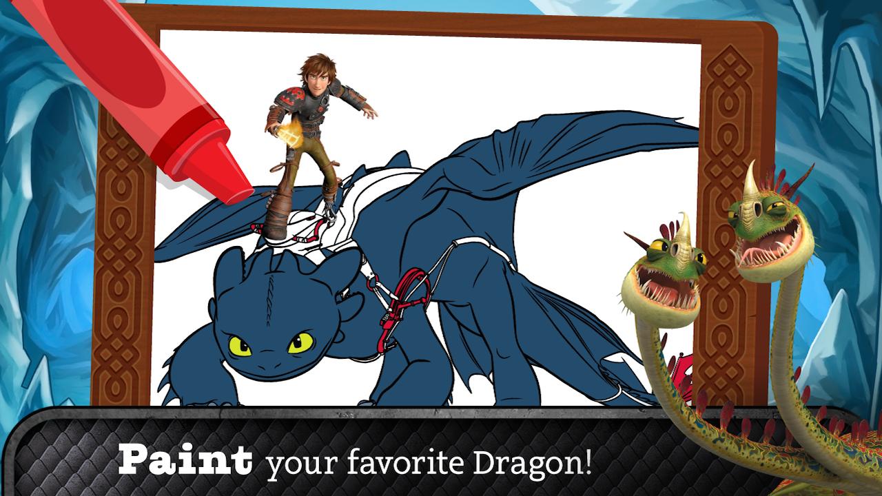 Ohnezahn 2 Ausmalbilder : How To Train Your Dragon 2 The Official Storybook App Amazon De